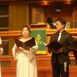 Une lecture biblique originale : le chœur parlé