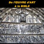De l'œuvre d'art à la Bible